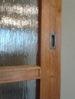 Detail kartáčovaných dveří