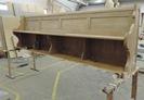Nová koncová lavice