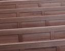 Nové lavice - opěráky