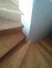 Detail bambusového obkladu schodiště