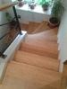 Obklad schodiště olejovaným bambusem