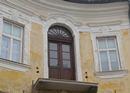 Dubové kartáčované a olejované balkonové dveře