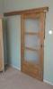 Posuvné kartáčované a olejované dveře