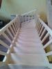 Samonosné smrkové schodiště
