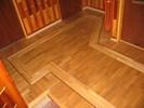 Mozaiková podlaha dub + jasan