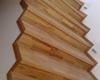 Pšenica – dubový obklad schodiště olejovaný