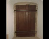 Dubové dveře kaple - kartáčované a olejované