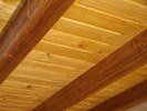 Kartáčovaný strop