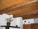 Ukončení kartáčovaného stropního obkladu
